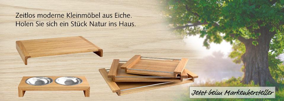 Eiche Holz Trend Wohnen Möbel Accessoires design Natur NATUREHOME