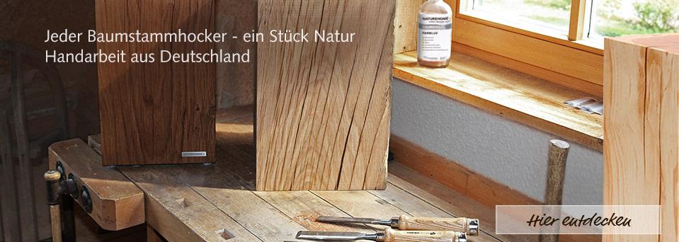 Sitz-Hocker Holz Möbel Design