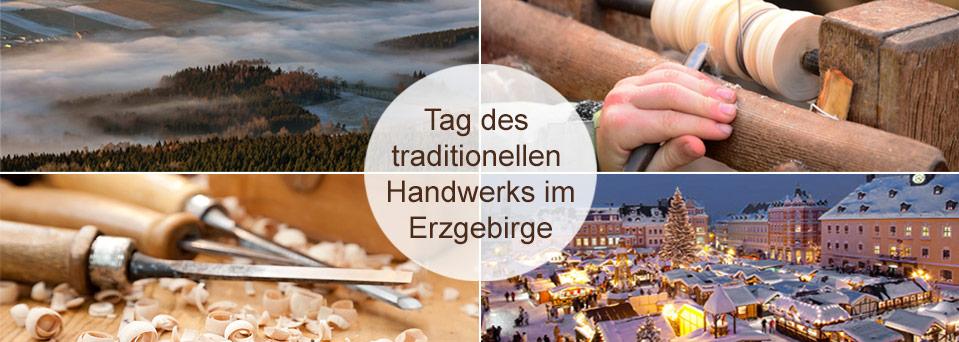 Erzgebirge traditionelles Handwerk drechseln Holz Weihnachten NATUREHOME