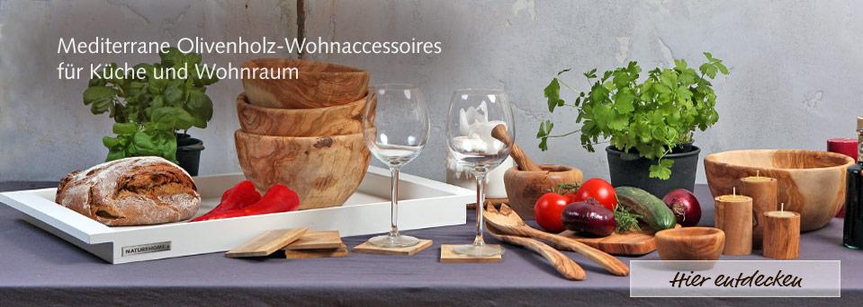 Oliven-Holz Küchen-Accessoires Schneidebrett Messer