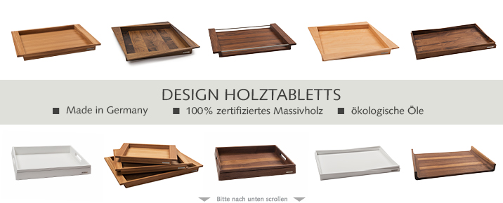 Holztablett Tabletts Aus Massivem Holz Naturehome