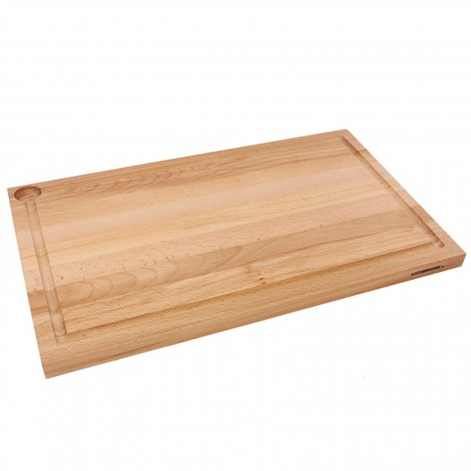 Holzschneidebrett aus Buche 58 x 36 cm