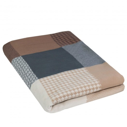 Wohndecke Jacquard 100% Baumwolle (Bio) Design MATEO