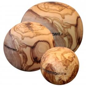 Decorative Ball Olive Wood, div. sizes