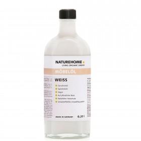 Furniture oil - white, 250 ml