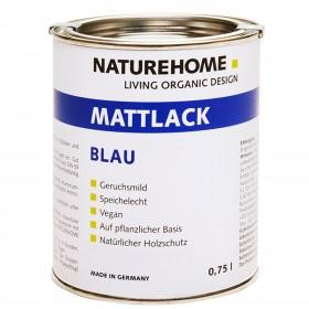 matt varnish blue 750 ml