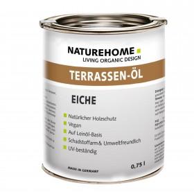 Terrassen-Öl Holzöl für Außenbereich 0,75 l Eiche