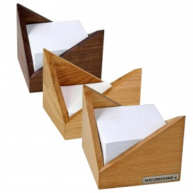 Zettelbox SKRIPT Buche 9,5 x 9,5 cm