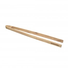 BBQ tongs olive wood 45 cm