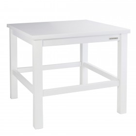 ECO side table beech white, 50 x 45 x 50 cm
