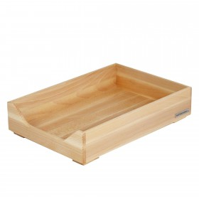 ECO letter tray beech wood A4 natural oiled