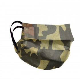Mouth and nose mask camouflage