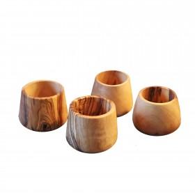 Egg cup olive wood, div sets