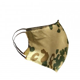 Mouth and nose maske, camouflage (fits for glasses)