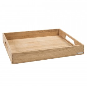 Wooden Tray Oak 50 x 35,5 x 7,5 cm Collection NH-B