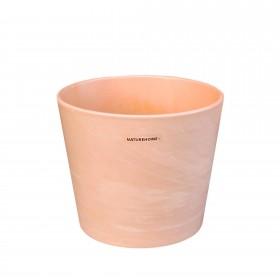 Ceramic flower pot with a terracotta look, Ø 14.5 cm