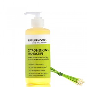 Lemon grass organic hand soap 300 ml