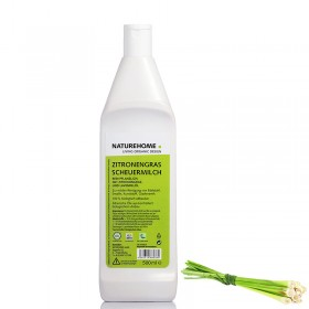 Lemon grass organic scrubbing milk 500 ml