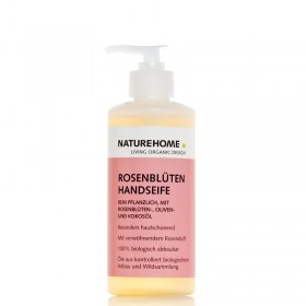 Organic Rose Flower Hand Soap 300 ml