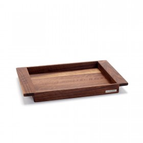 Wooden tray walnut NH-E 44,5 x 28,5 cm