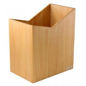 "Wastepaper Bin ""Skript"" Beech 20 x 35 x 30cm (W x H x D)"