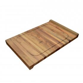 Chopping Board Walnut Wood both sides 60x40cm