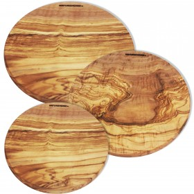 Cutting Board Olive Wood round, div. sizes