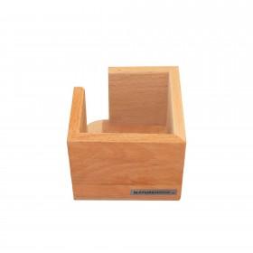 CLASSIC memo box beech wood, 11,5 x 11,5 cm