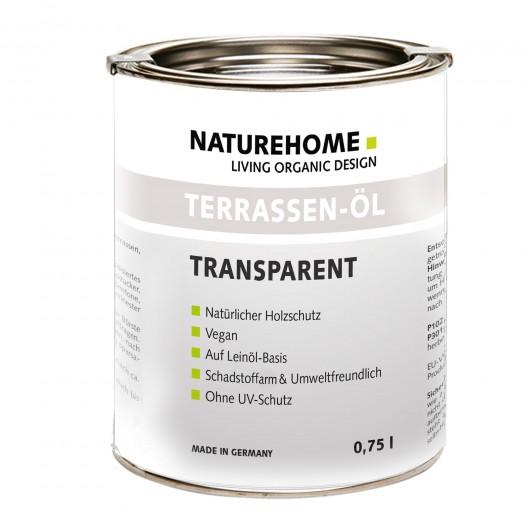Terrassen-Öl Holzöl für Außenbereich 0,75 l, Farblos