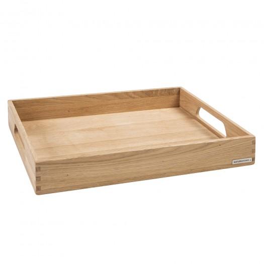 Holztablett NH-B Eiche 50 x 35,5 x 7,5 cm