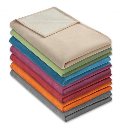 """Wohndecken """"Ida"""" aus 100% Baumwolle (kbA) in verschiedenen Farben"""