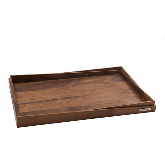 Holz-Tablett Nussbaum NH-R