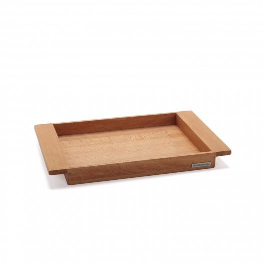 Tablett Buche Vollholz 44,5 x 28,5 cm von NATUREHOME