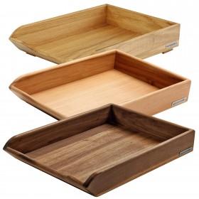 Ablage CLASSIC Holz A4 versch. Holzarten
