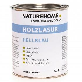 Holzlasur - hellblau 750 ml
