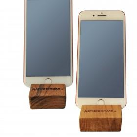 Handy-Halter Holz versch. Holzarten 8 x 5 x 2,5 cm