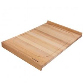 Holzschneidebrett aus Buche beidseitig 60x40cm