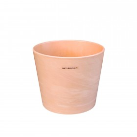 Blumentopf Übertopf Keramik in Terrakotta-Optik Ø 11,5 cm