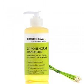 Bio Handseife Zitronengras, 300 ml