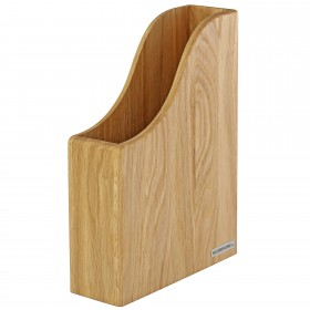 Stehsammler CLASSIC Eichen-Holz DIN A4