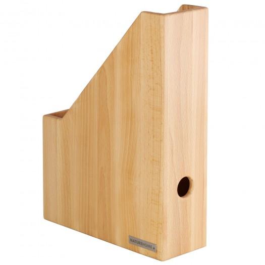 Stehsammler ECO Buchen-Holz natur geölt A4