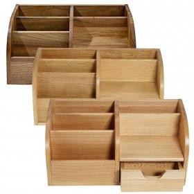 Office Butler Schreibtisch-Organizer CLASSIC Holz