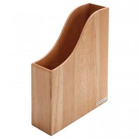 Stehsammler CLASSIC Buchen-Holz DIN A4