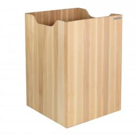 Papierkorb ECO Buchen-Holz Natur geölt