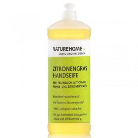 Bio Handseife Zitronengras Nachfüllflasche 1L
