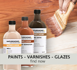 paints varnishes glazes DIY