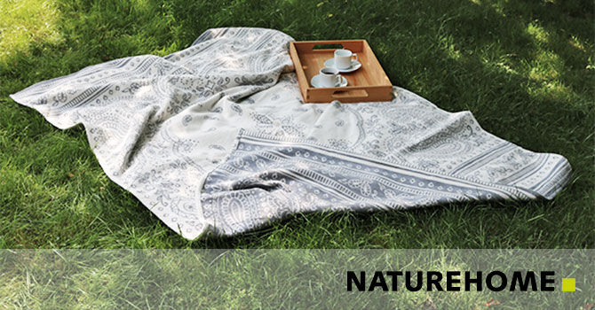 Wohndecken Kuscheldecken 100% Baumwolle
