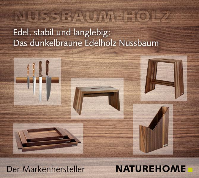 Trend Nussbaum-Holz