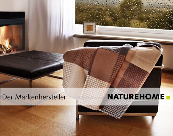 Wohndecken aus Bio-Baumwolle