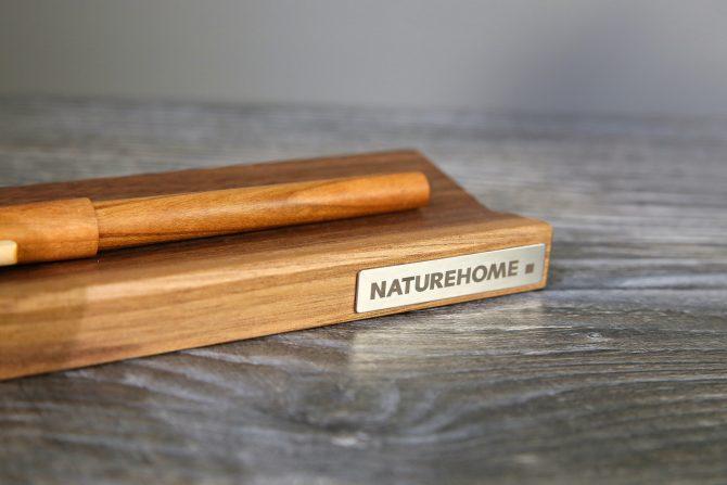 Stiftablage aus Holz